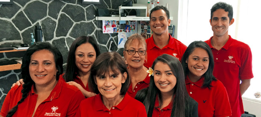 Hawaii Physical Therapy & Chiropractic Clinic staff